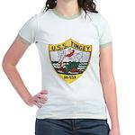 USS TINGEY Jr. Ringer T-Shirt