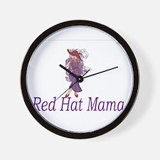 Unique Hot mama Wall Clock