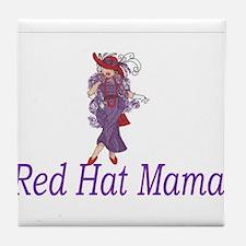 Funny Hot mama Tile Coaster