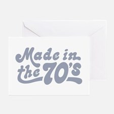 Made in the 70's Greeting Cards (Pk of 10)