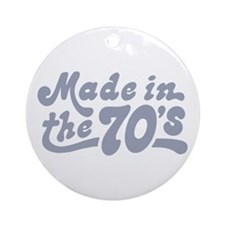 Made in the 70's Ornament (Round)