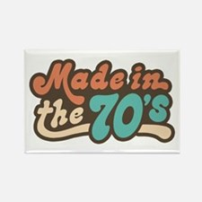 Made in the 70's Rectangle Magnet
