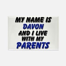 my name is davon and I live with my parents Rectan