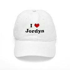 I Love Jordyn Baseball Cap