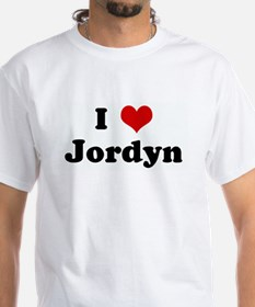 I Love Jordyn Shirt