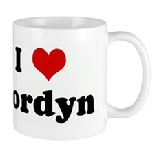 I Love Jordyn Mug