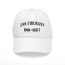 USS UHLMANN Baseball Cap