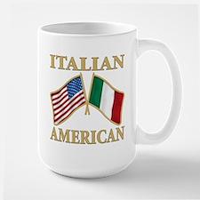 Italian american Pride Large Mug