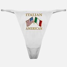 Italian american Pride Classic Thong