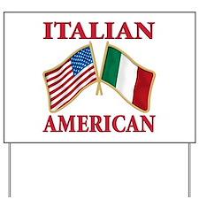 Italian american Pride Yard Sign