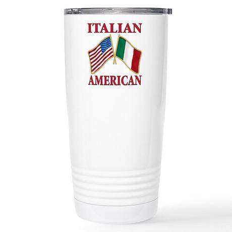 Italian american Pride Stainless Steel Travel Mug