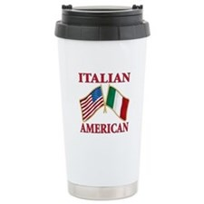 Italian american Pride Travel Coffee Mug