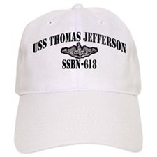 USS THOMAS JEFFERSON Baseball Cap