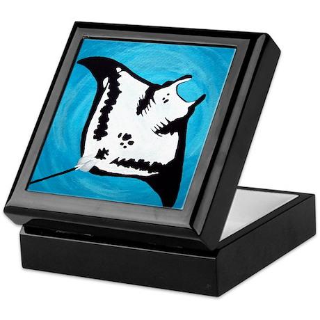 Manta Keepsake Box