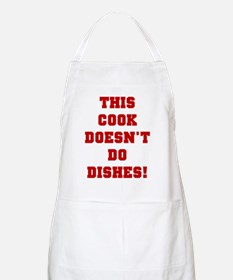 Doesn't Do Dishes BBQ Apron