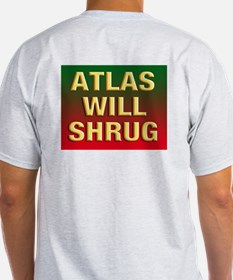 It's the SPENDING on the front, Atlas on the back