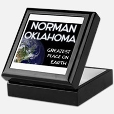 norman oklahoma - greatest place on earth Keepsake