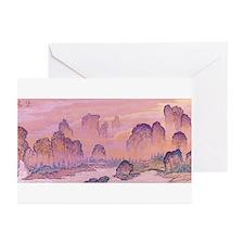 Karst Mountains Greeting Cards (Pk of 10)