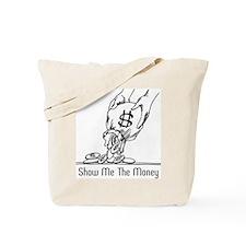 Retro Money Tote Bag