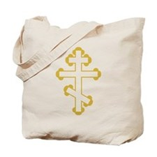 Orthodox Bottony Cross Tote Bag