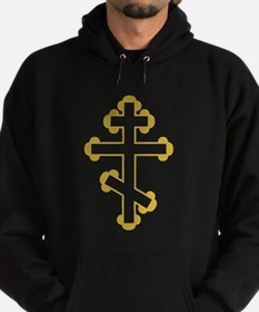 Orthodox Bottony Cross Hoodie (dark)
