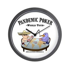 Cute Bird flu Wall Clock