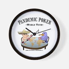 Cute Avian flu Wall Clock