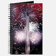 Fireworks Washington Monument Journal