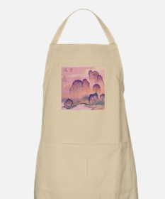 Chinese Mountains BBQ Apron