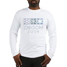 Winter Groom 2009 Long Sleeve T-Shirt