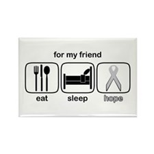 Friend ESHope Lung Rectangle Magnet