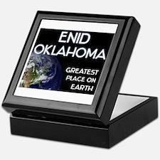 enid oklahoma - greatest place on earth Keepsake B