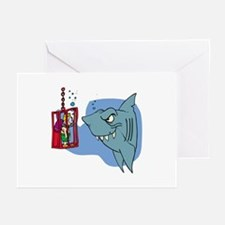 Here Fishy Fishy! Greeting Cards (Pk of 10)