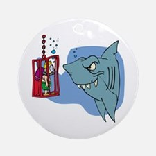 Here Fishy Fishy! Ornament (Round)