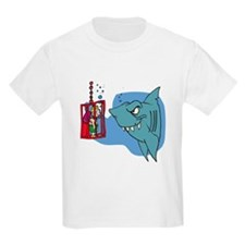 Here Fishy Fishy! Kids T-Shirt