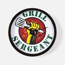 Grill Sergeant Wall Clock