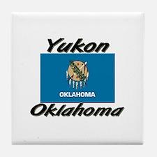 Yukon Oklahoma Tile Coaster