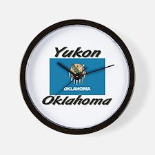 Yukon Oklahoma Wall Clock