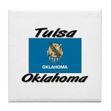 Tulsa Oklahoma Tile Coaster