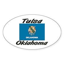 Tulsa Oklahoma Oval Decal