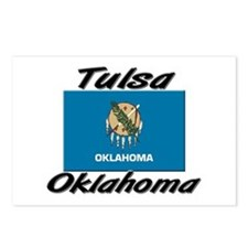 Tulsa Oklahoma Postcards (Package of 8)