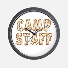 Camp Staff Wall Clock