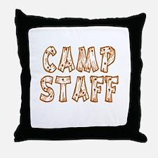 Camp Staff Throw Pillow