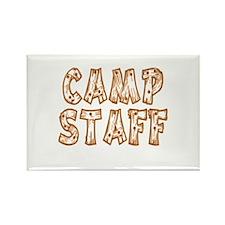 Camp Staff Rectangle Magnet