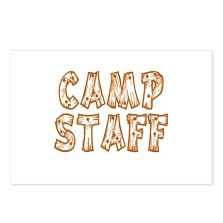 Camp Staff Postcards (Package of 8)