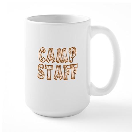 Camp Staff Large Mug