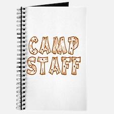 Camp Staff Journal
