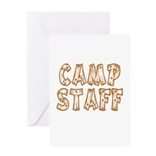 Camp Staff Greeting Card