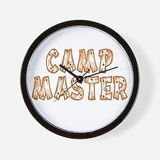 Camp Master Wall Clock