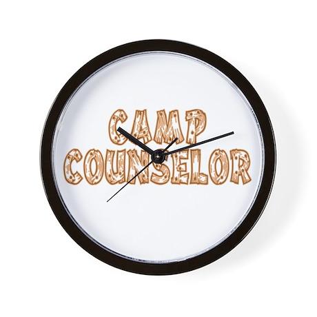 Camp Counselor Wall Clock